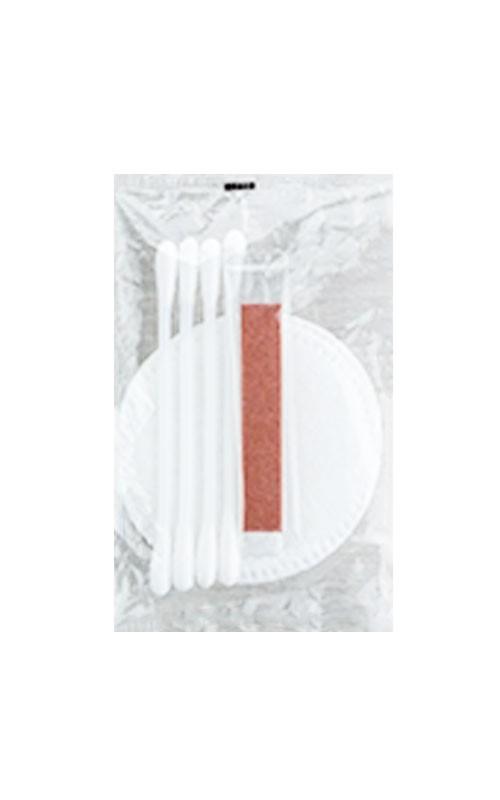 Hygieneset/Vanityset im transparentem Flowpack no logo-