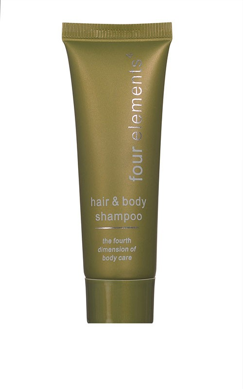 Four elements hair & bodyshampoo in Tube 30ml