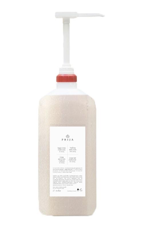 Prija Creme-Bad vitalisierend mit Ginseng im 3 Liter Tank