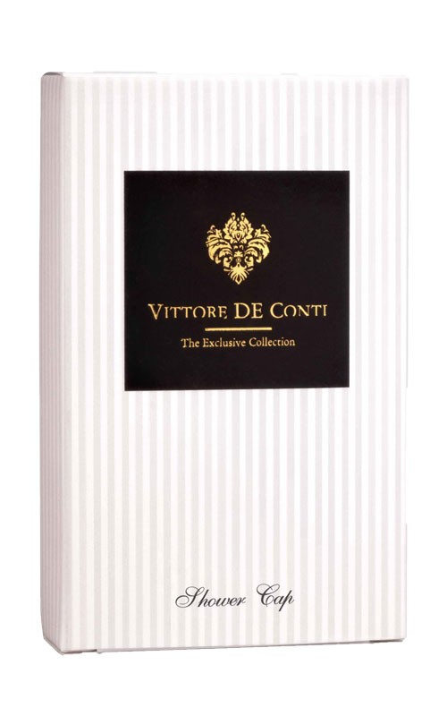 Vittore de Conti new Duschhaube/Shower Cap in Kartonge