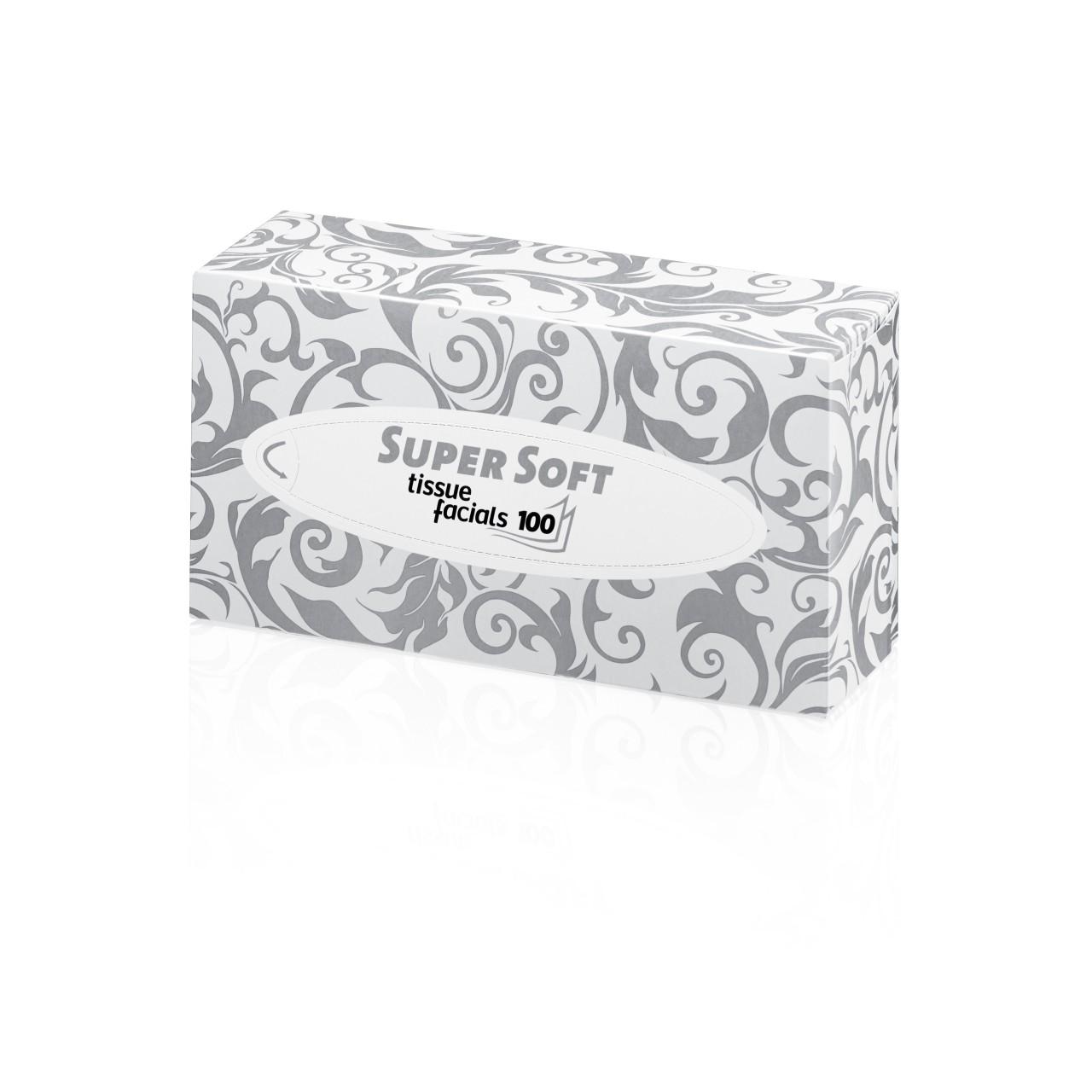 Kosmetiktücher Super Soft 100Blatt-/2-lagig