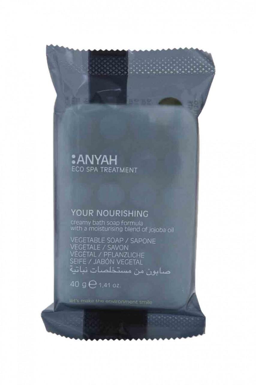 Anyah Pflanzliche Massageseife 20g mit Jojoba-Öl-Ecolabel zertifiziert-