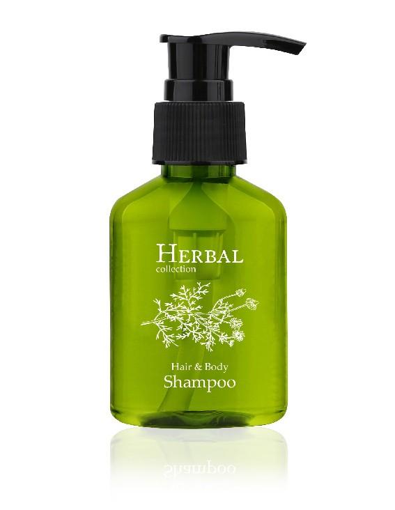 Herbal collection Hair- & Bodyshampoo 80ml im Pumpspender