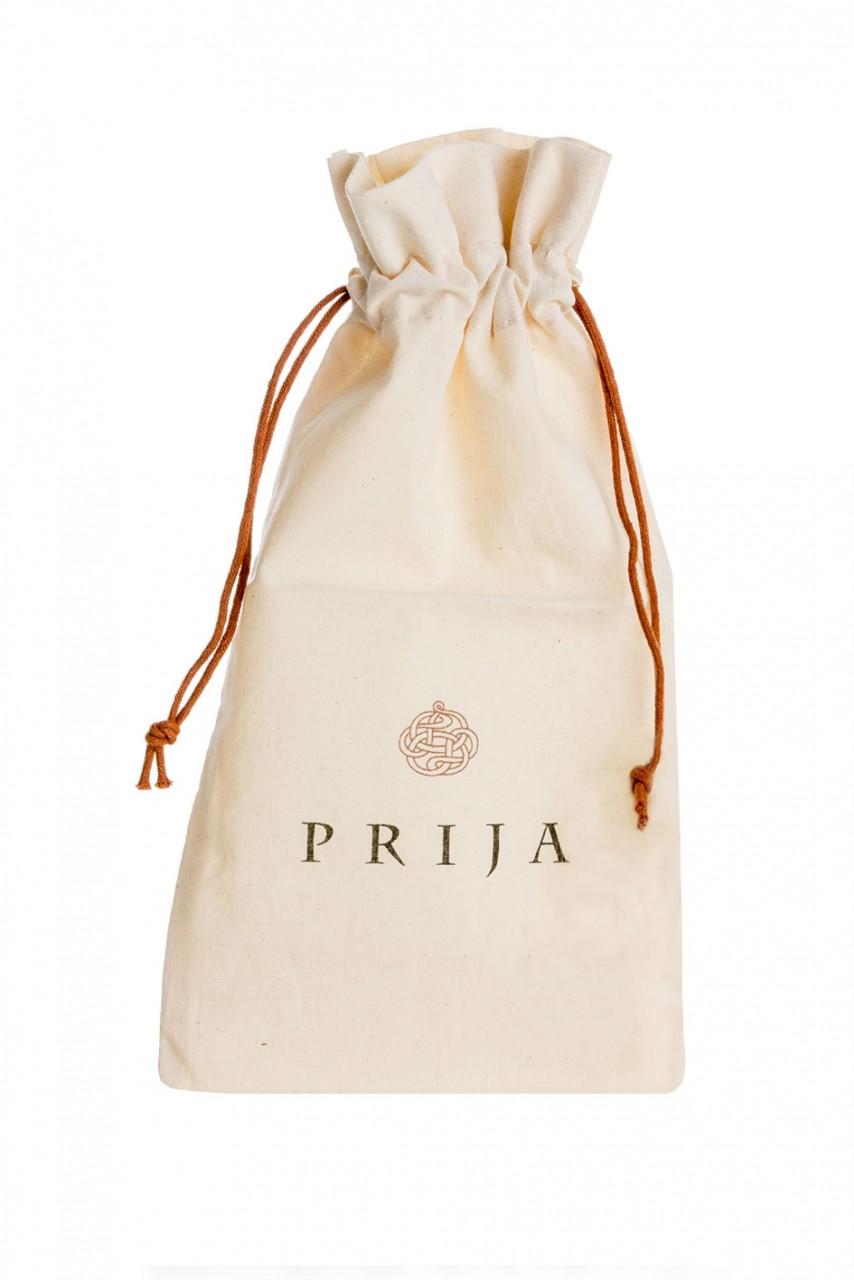 Prija Baumwollsäckchen für Amenities aus Ecru Naturbaumwolle