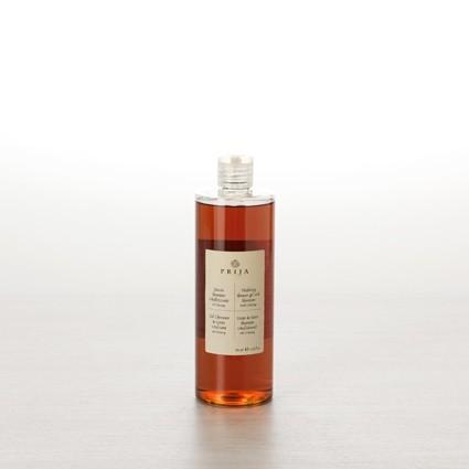 Prija Haut- und Haarshampoo 380ml Flacon mit Flip-Topverschluss-