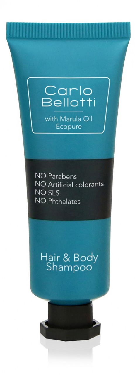 Carlo Bellotti Haut- und Haarshampoo 30ml in Tube