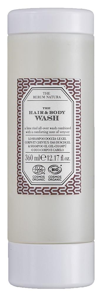 The Rerum Natura Hair-&Bodywash 360ml für Halterung