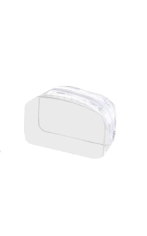 Linea Neutra Kosmetiktäschchen transparent und leer