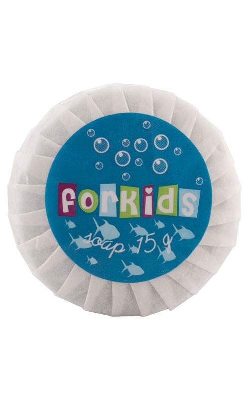 FORKIDS Seife 15g in Plisseepapier- Pflegelinie für Kinder ab 3 Jahren