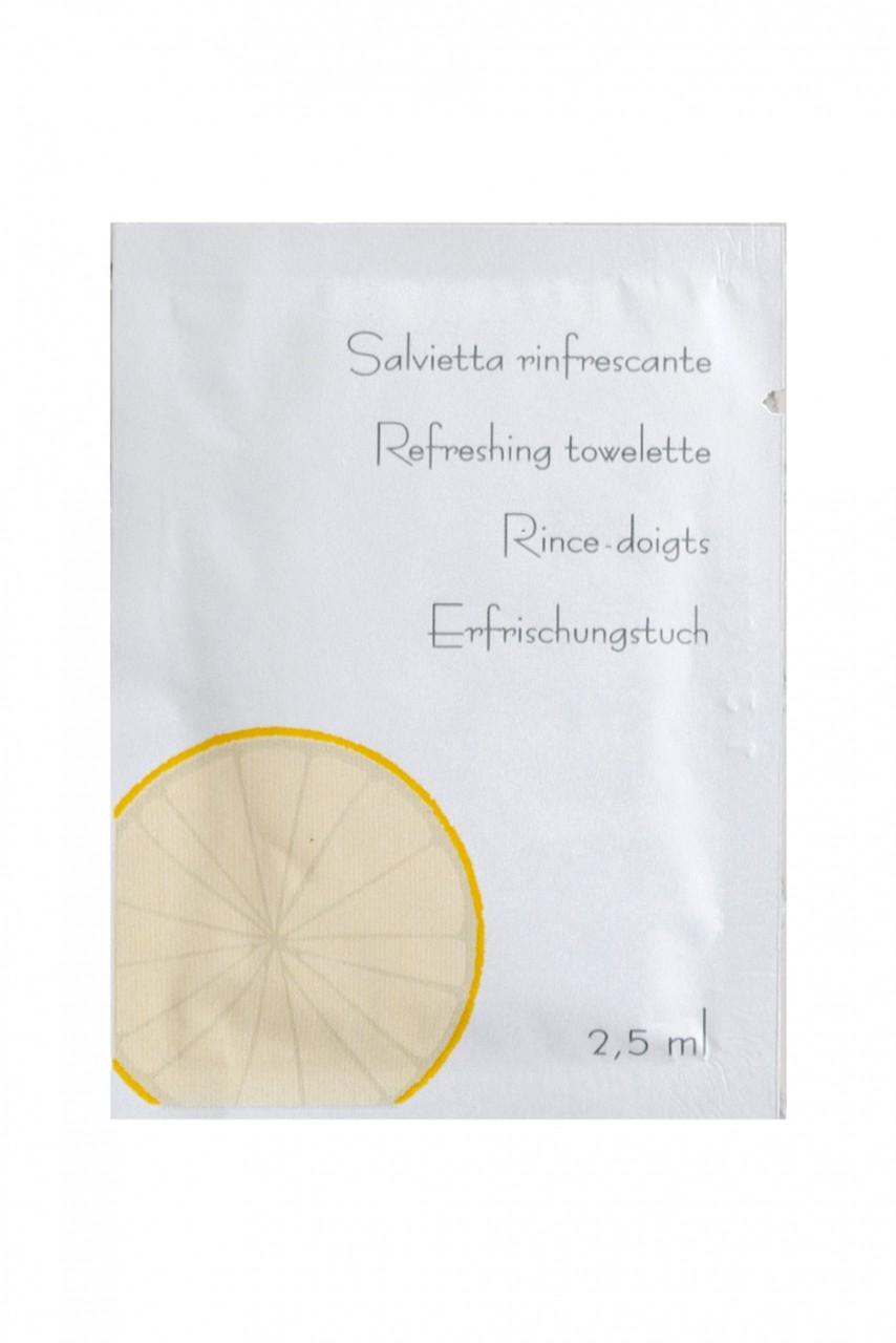 Linea Neutra Erfrischungstuch mit Zitrone im Sachet