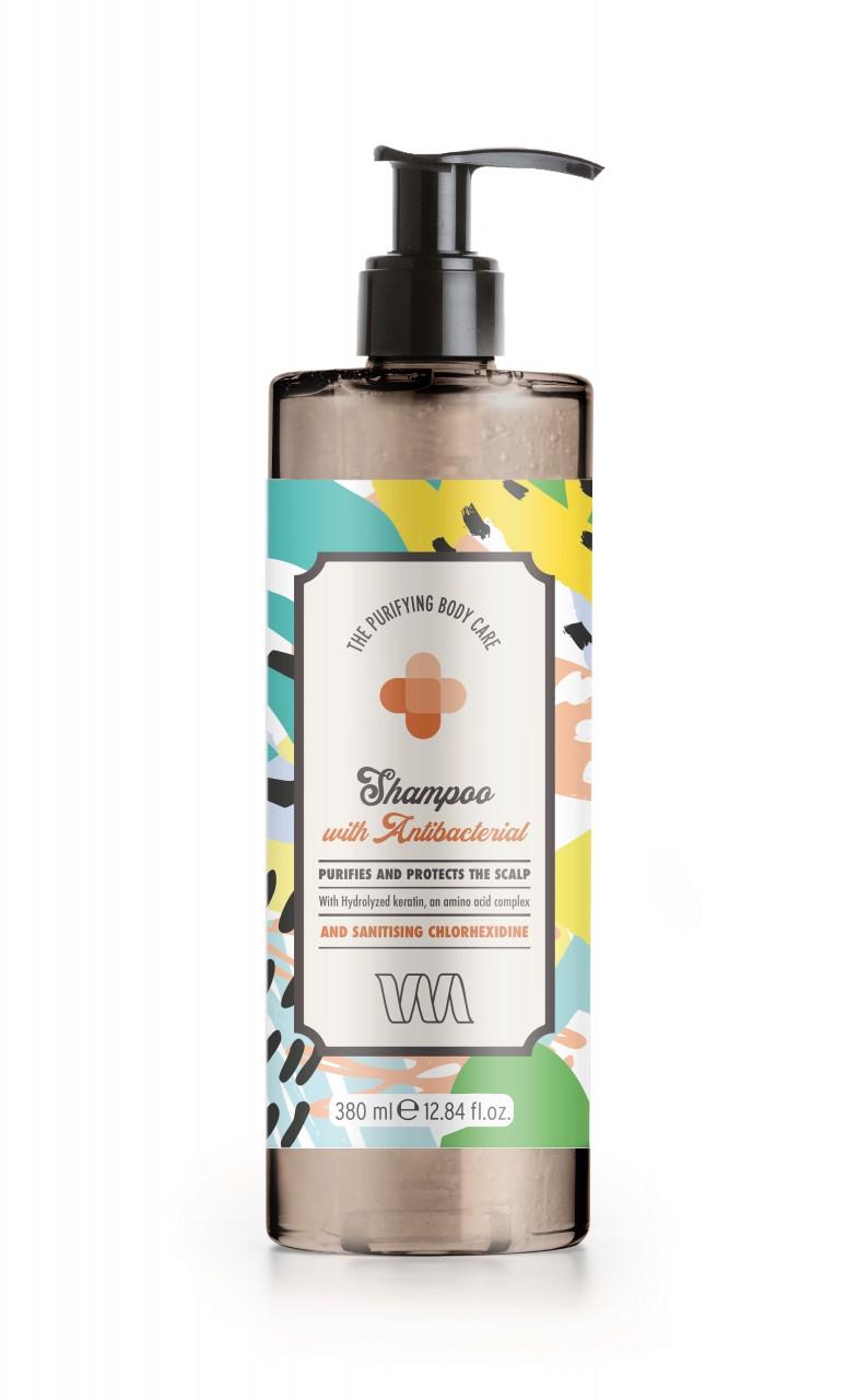 The Purifying Body Care Shampoo Antibacterial 380ml Flacon