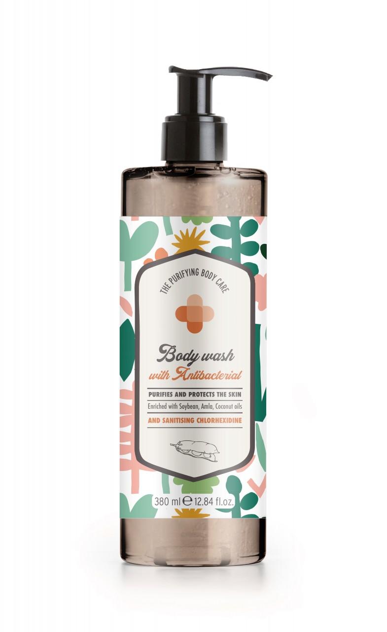 The Purifying Body Care Duschgel/Bodywash Antibakteriell 380ml