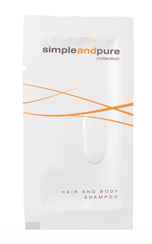 Simple and Pure Hair&Bodyshampoo 10ml im Sachet